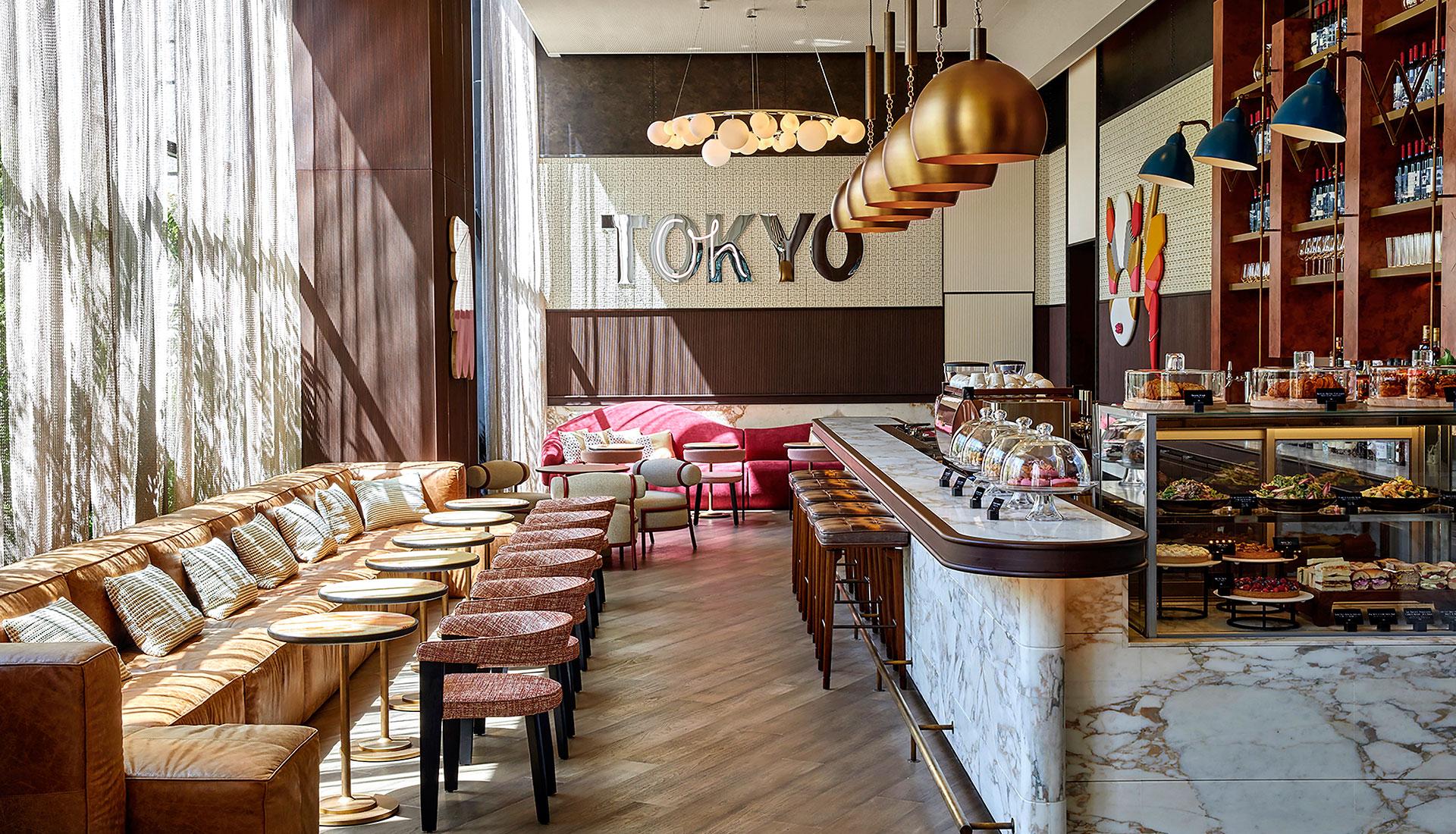 Rockwell Group: отель в Токио