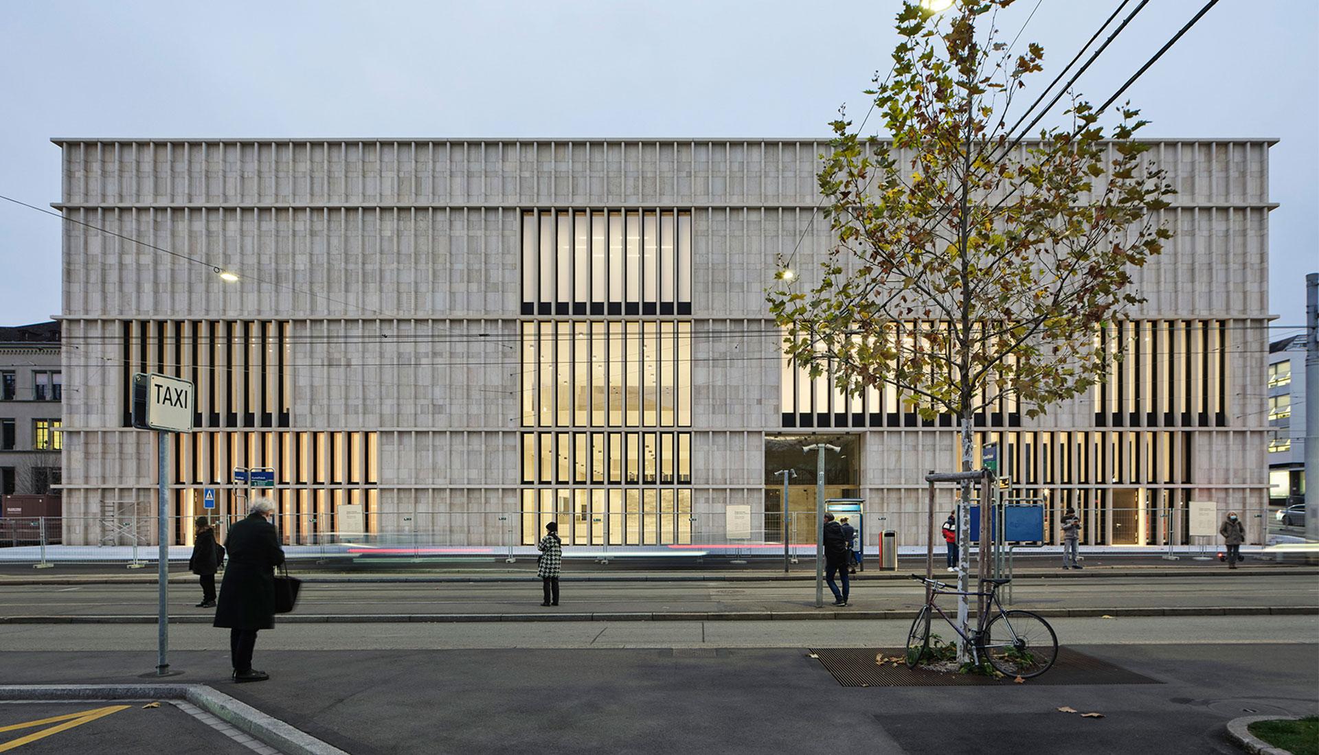 Дэвид Чипперфильд завершил новое здание для Kunsthaus Zürich