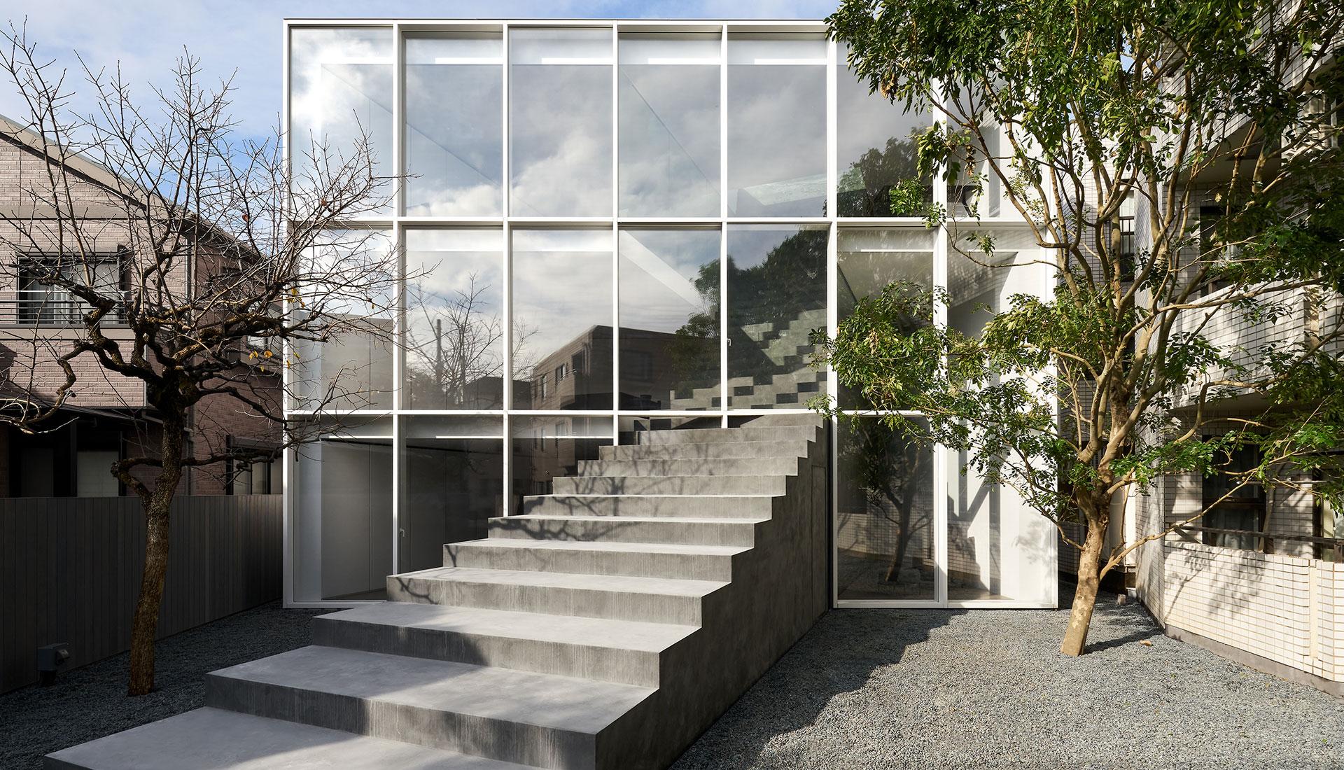 Nendo: «дом на лестнице» в Токио