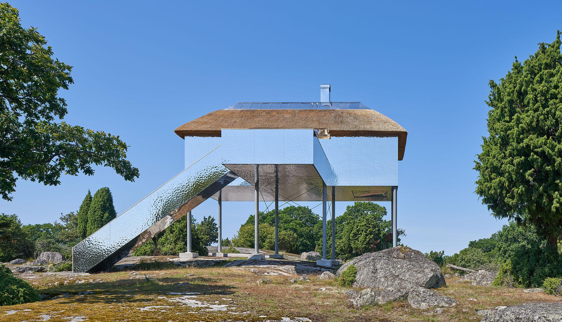 Отель в шведском заповеднике по проекту Sandellsandberg arkitekter