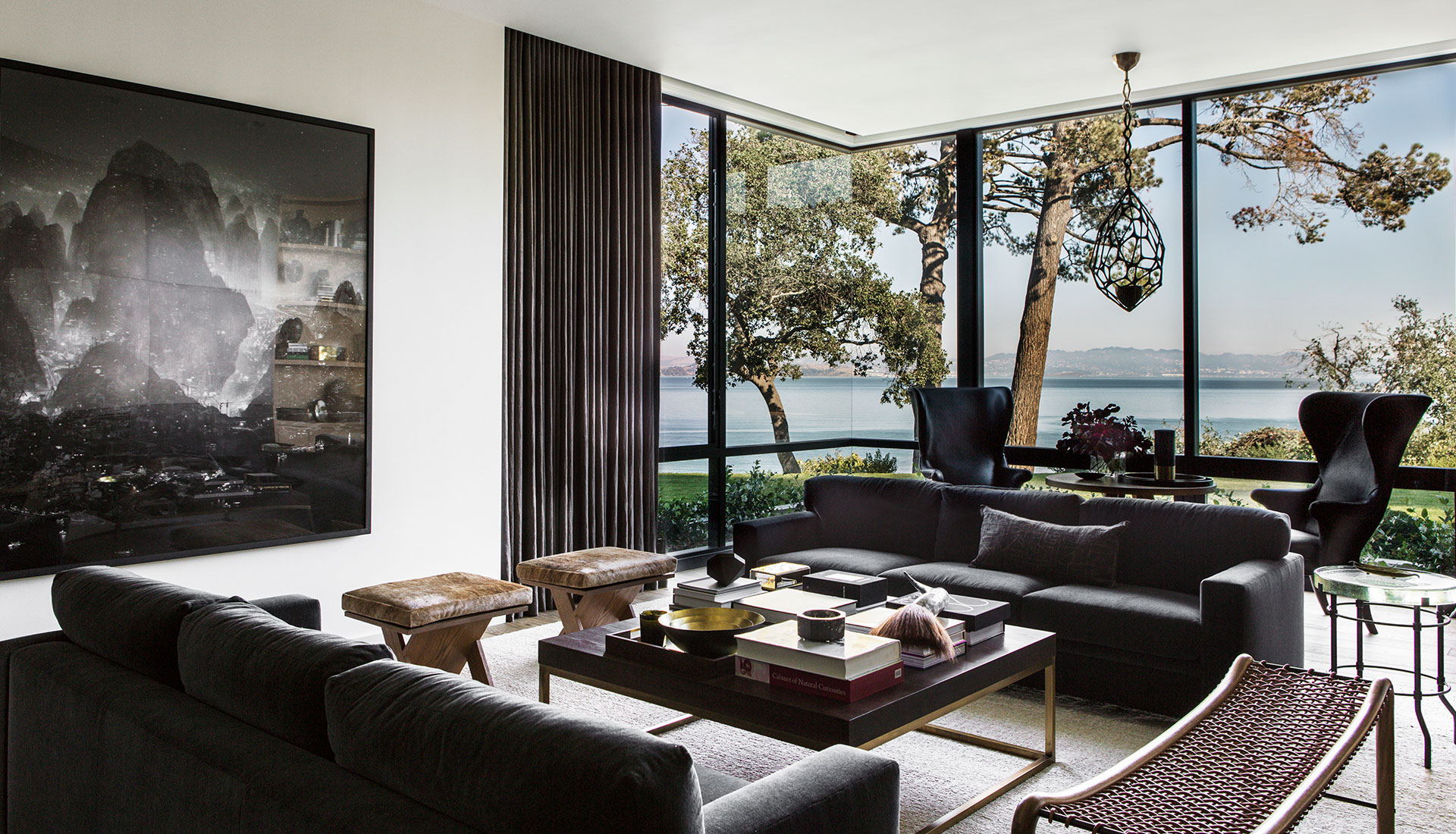 Walker Warner Architects: резиденция Tiburon Bay в Калифорнии