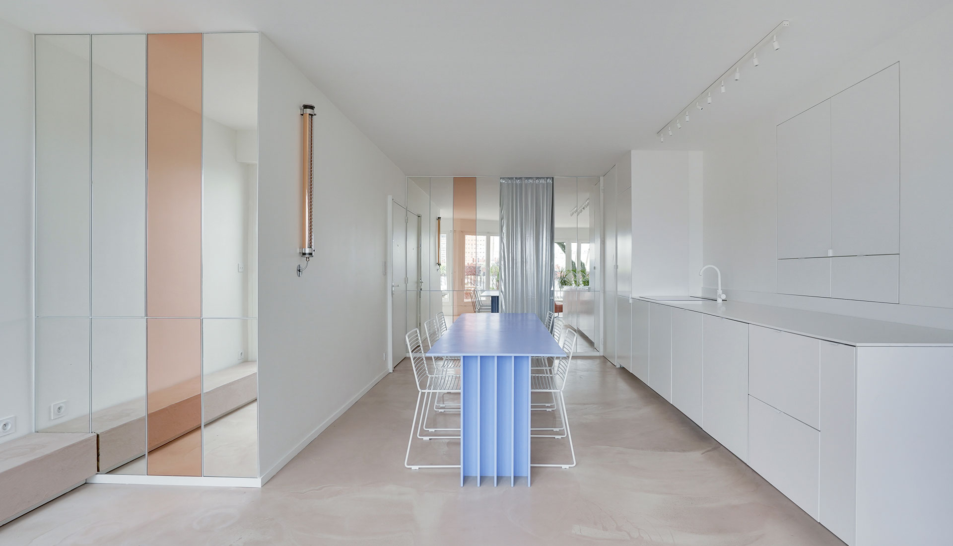 Ubalt Architectes : квартира 62 кв. метра в Париже