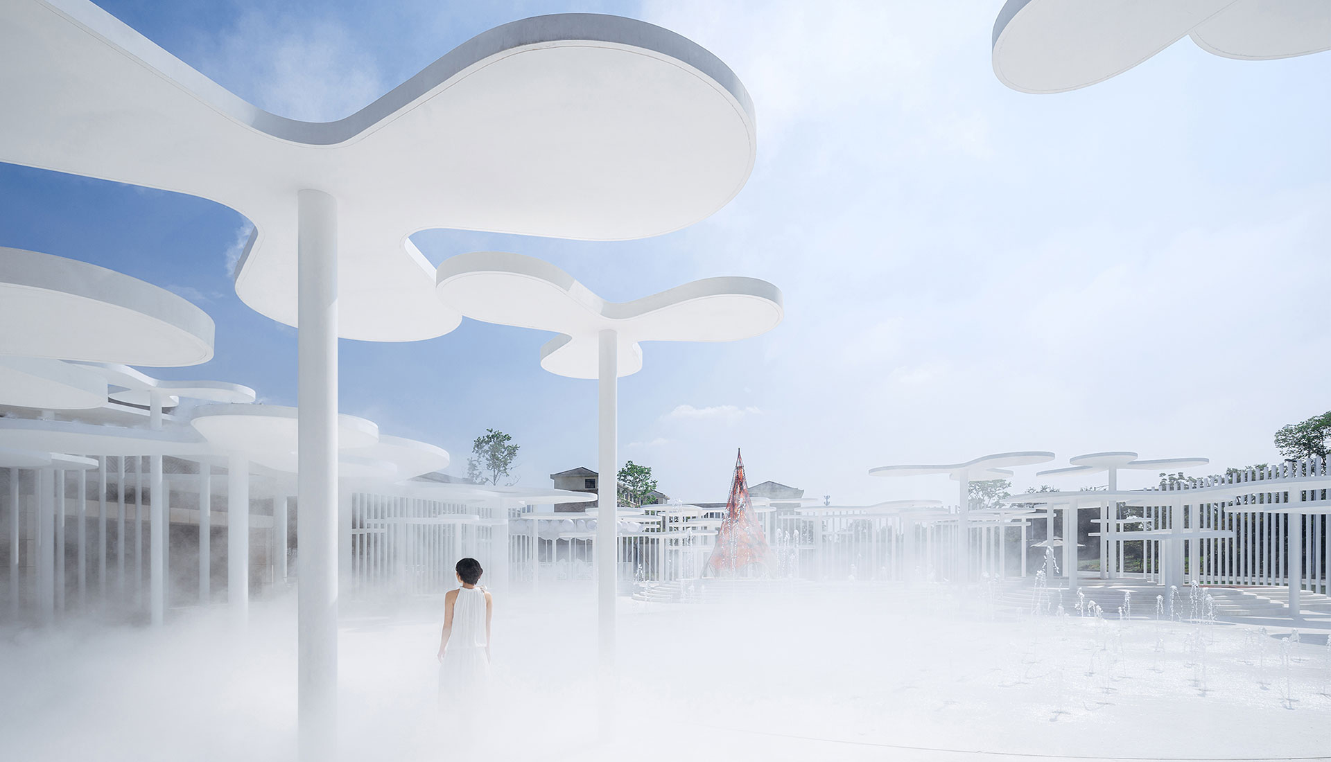 Wutopia Lab: павильон-сад в Хучжоу