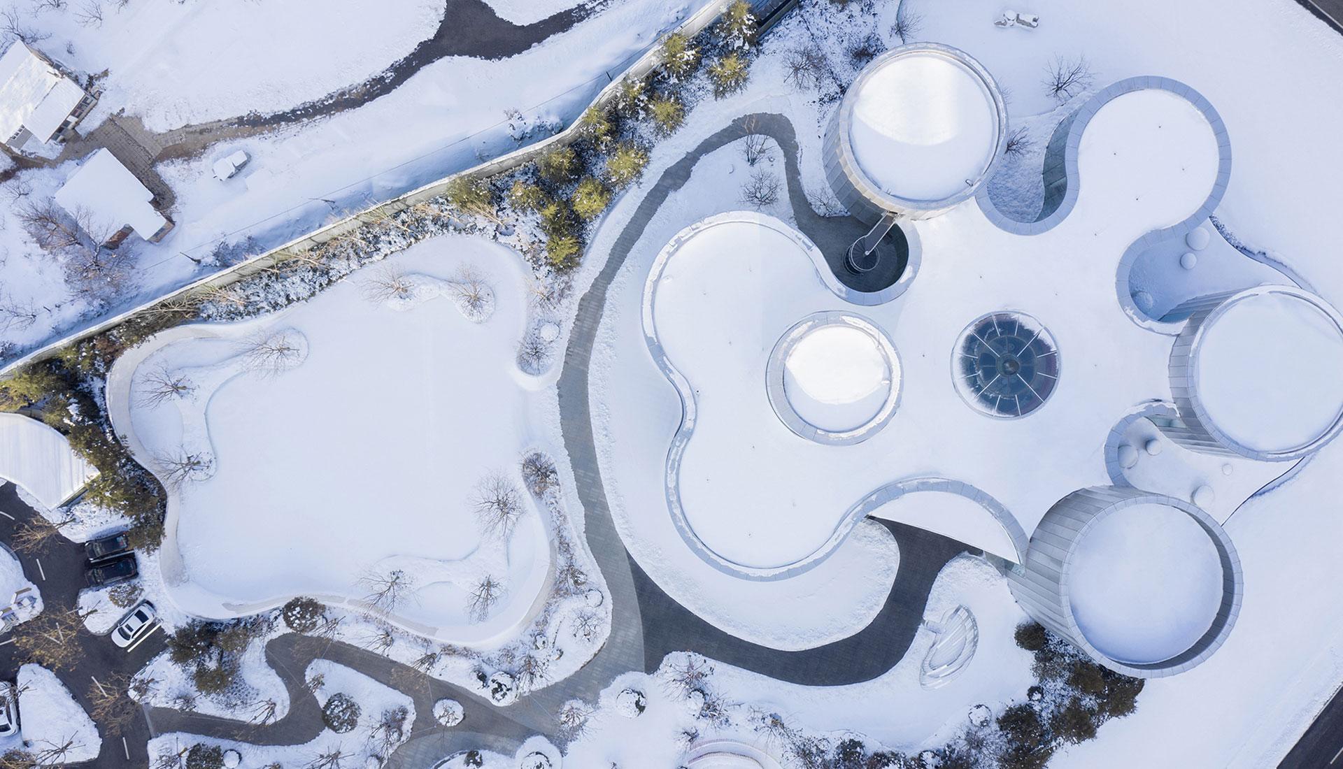 Выставочный центр в Яньтае по проекту MDO