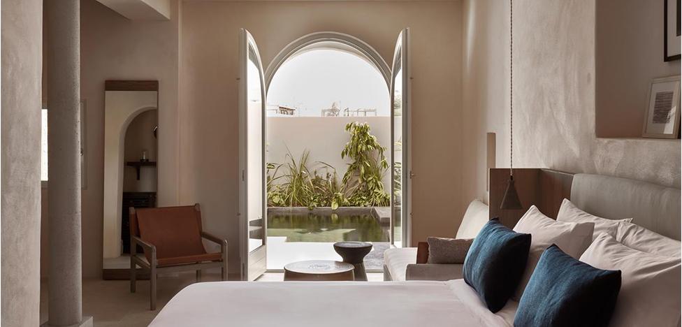 Дизайн-отель Istoria на острове Санторини