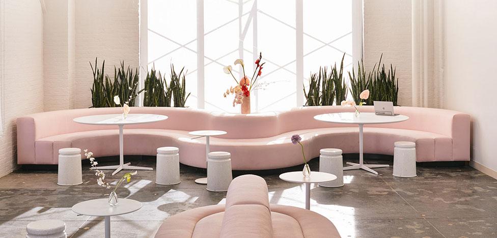 Рафаэль де Карденас: офис в розовом