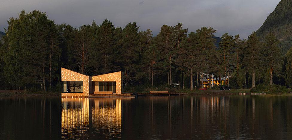 Золотая сауна в Норвегии