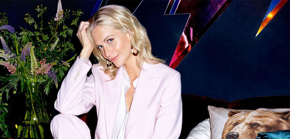 H&M запустил рекламную кампанию с Поппи Делевинь