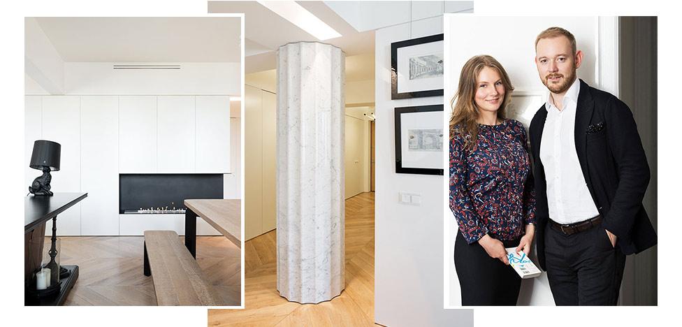 Pavel Zheleznov Interiors: квартира для молодой пары