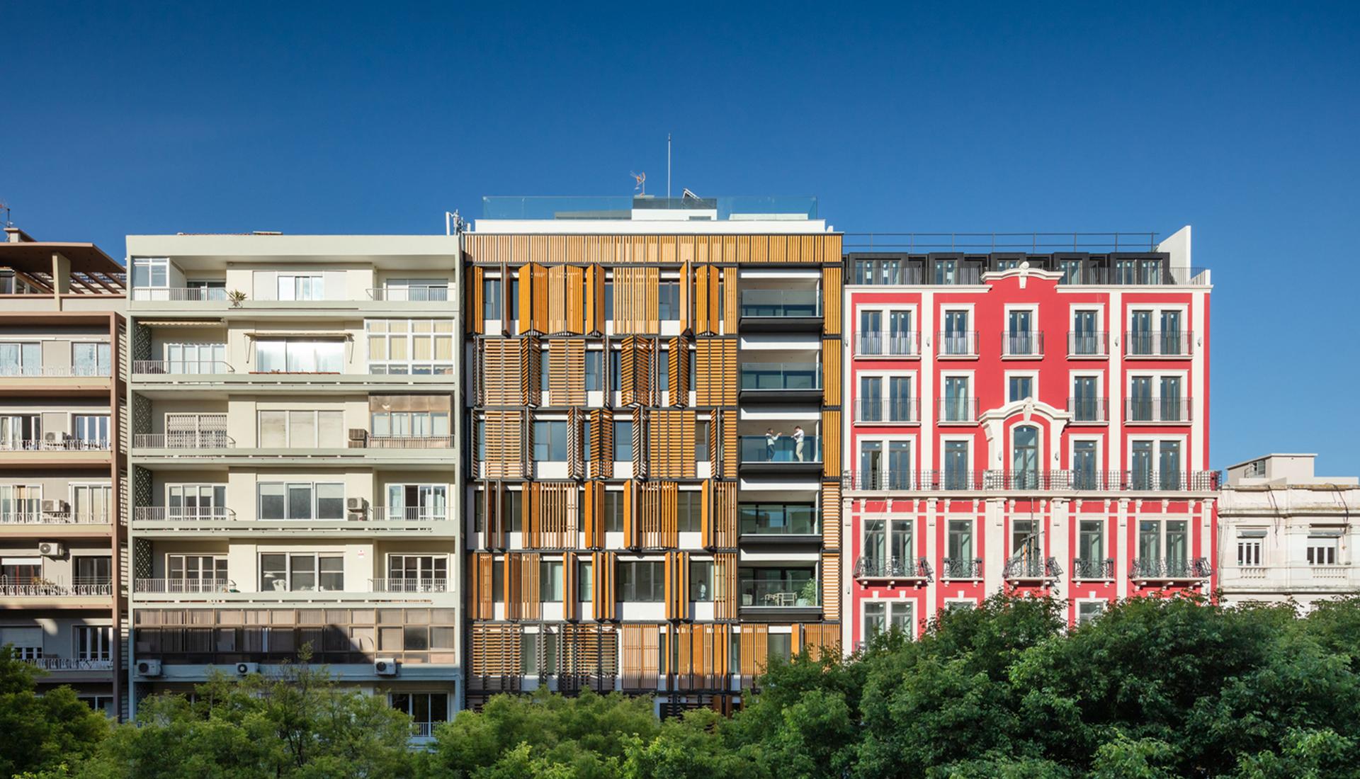 Кинетическая архитектура: жилой дом в Лиссабоне