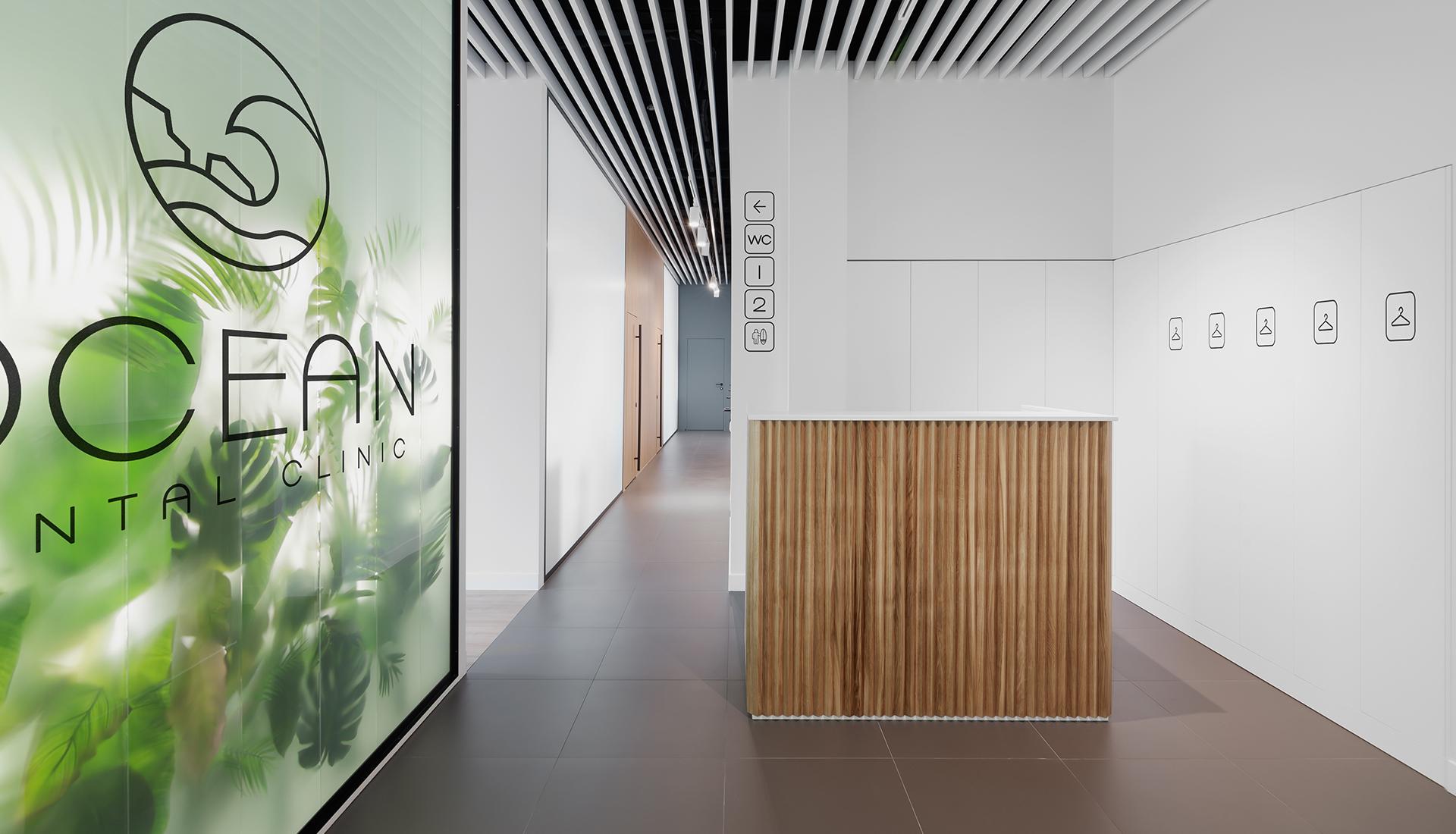 Стоматологическая клиника в Москве по проекту студии D.I.V/OBJECT's