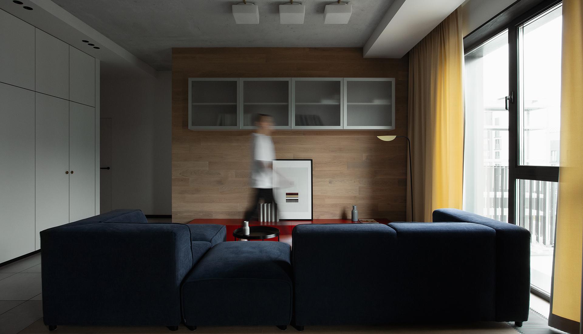 Саша Гамолин: квартира для семьи с тремя детьми в Минске