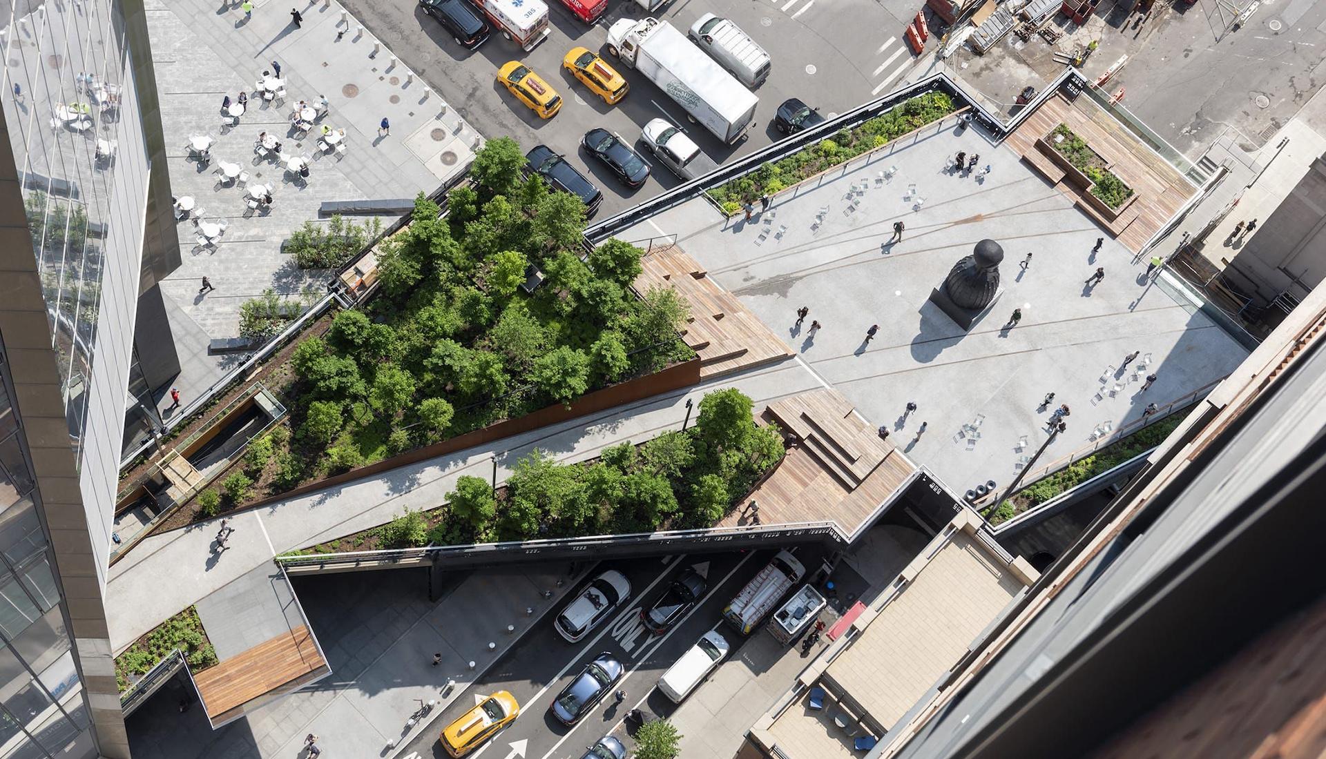 Diller Scofidio + Renfro: завершение парка The High Line