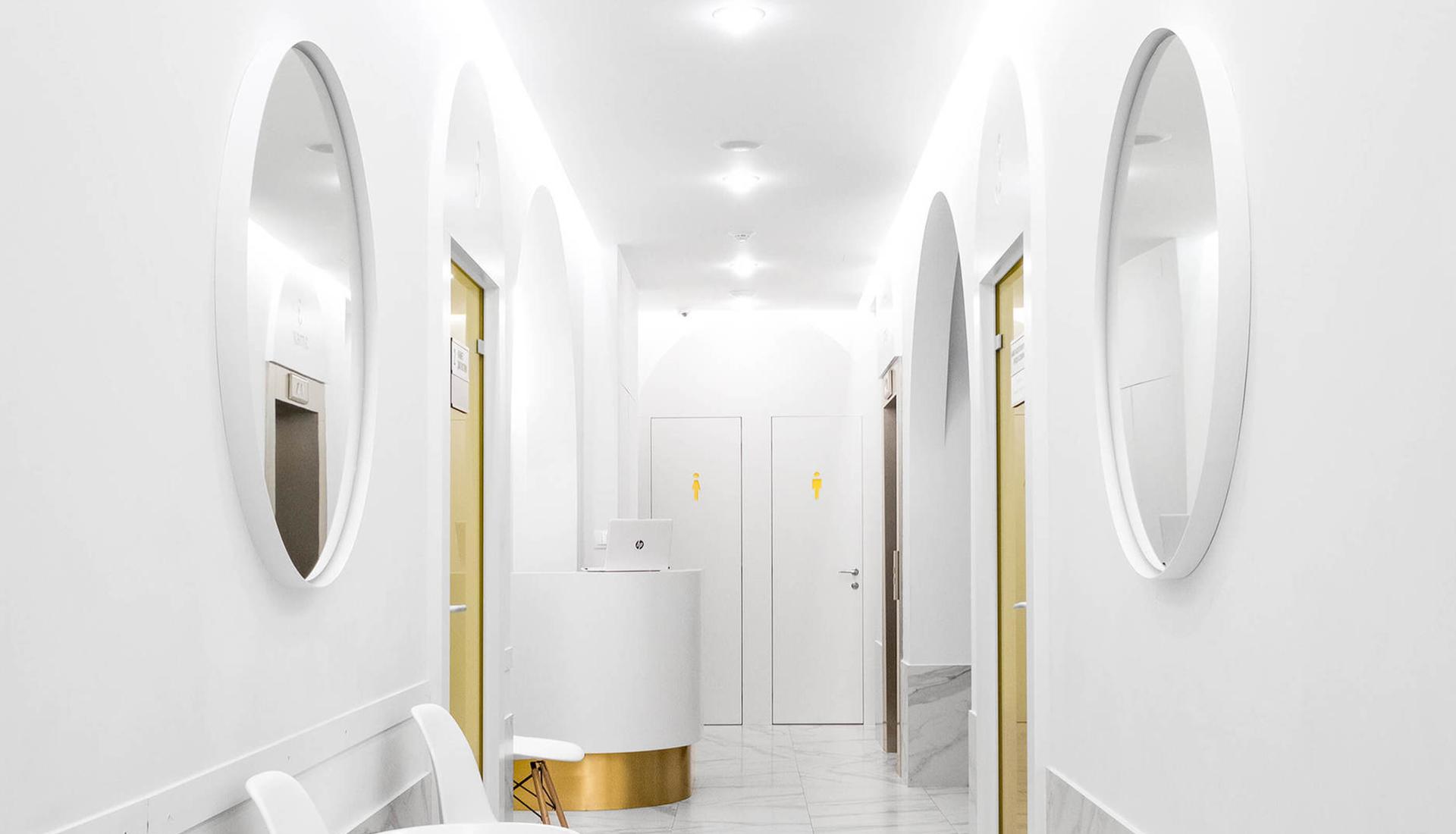 Клиника глазной хирургии в Москве по проекту Левана Давлианидзе и Hills Design Studio