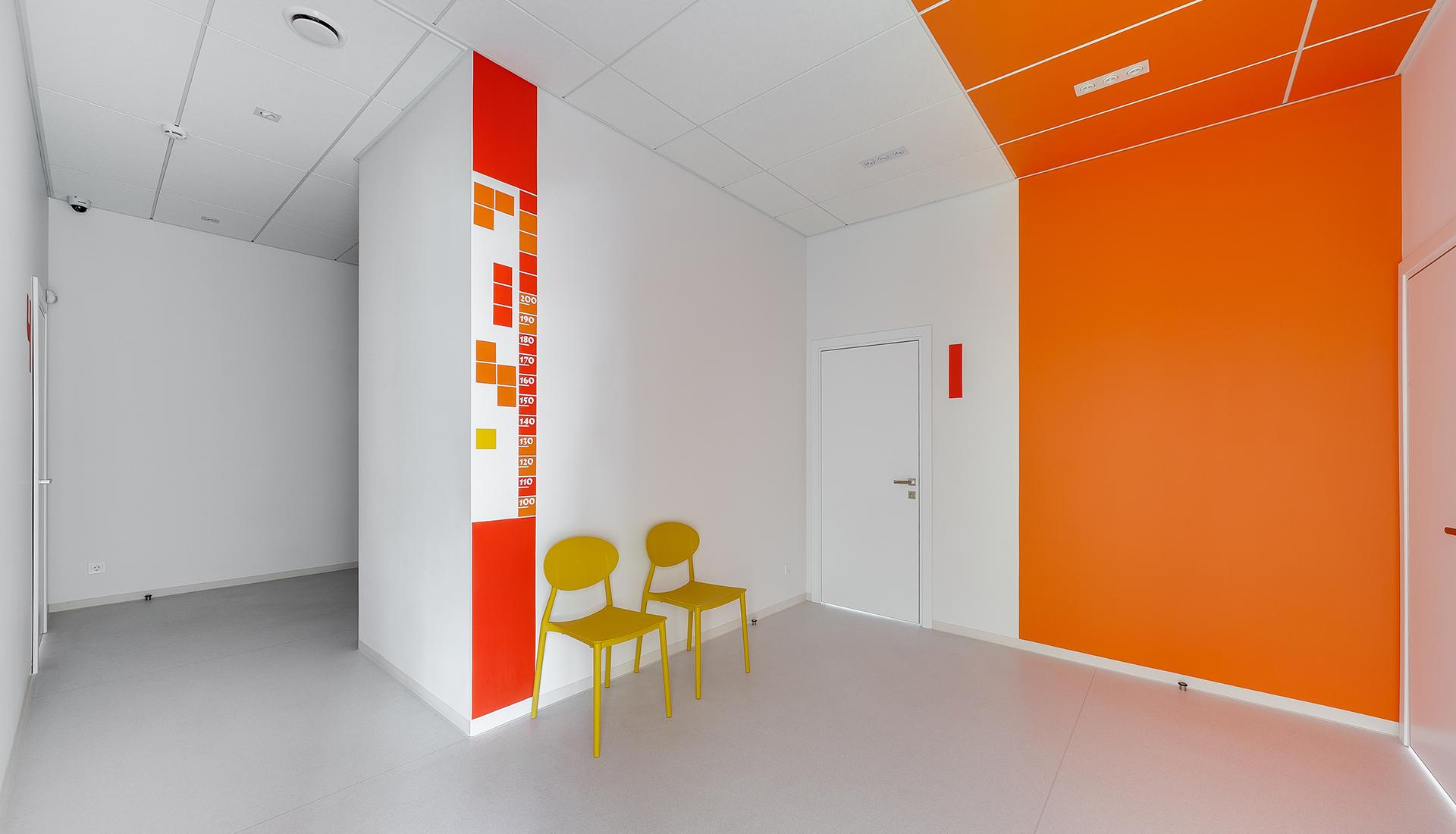 Детский центр по проекту дизайнера Татьяны Ивановой