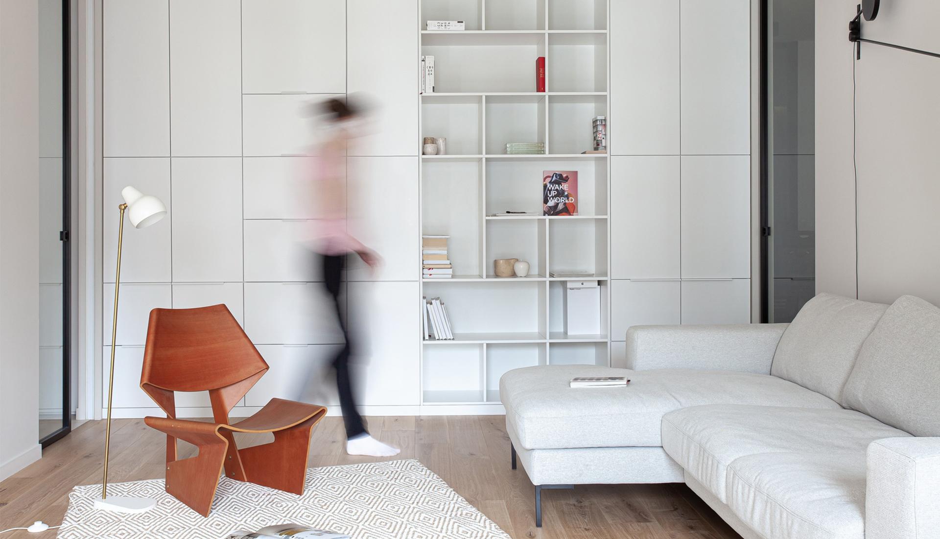Наталия Курлыгина: квартира 110 кв. метров с винтажной мебелью
