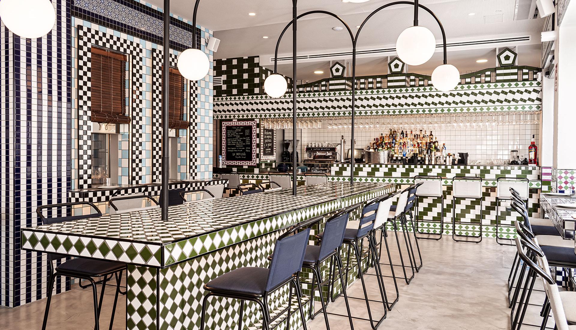 Ресторан в Валенсии по проекту Masquespacio