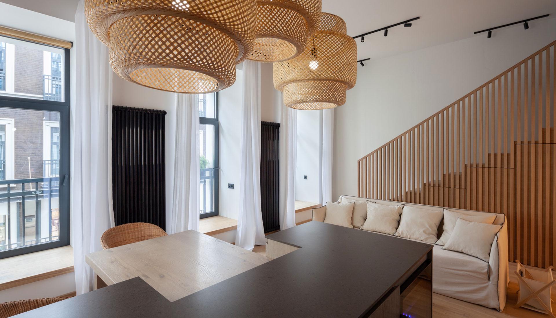 Квартира 40 кв. метров с антресолью: проект дизайн-бюро Special Style