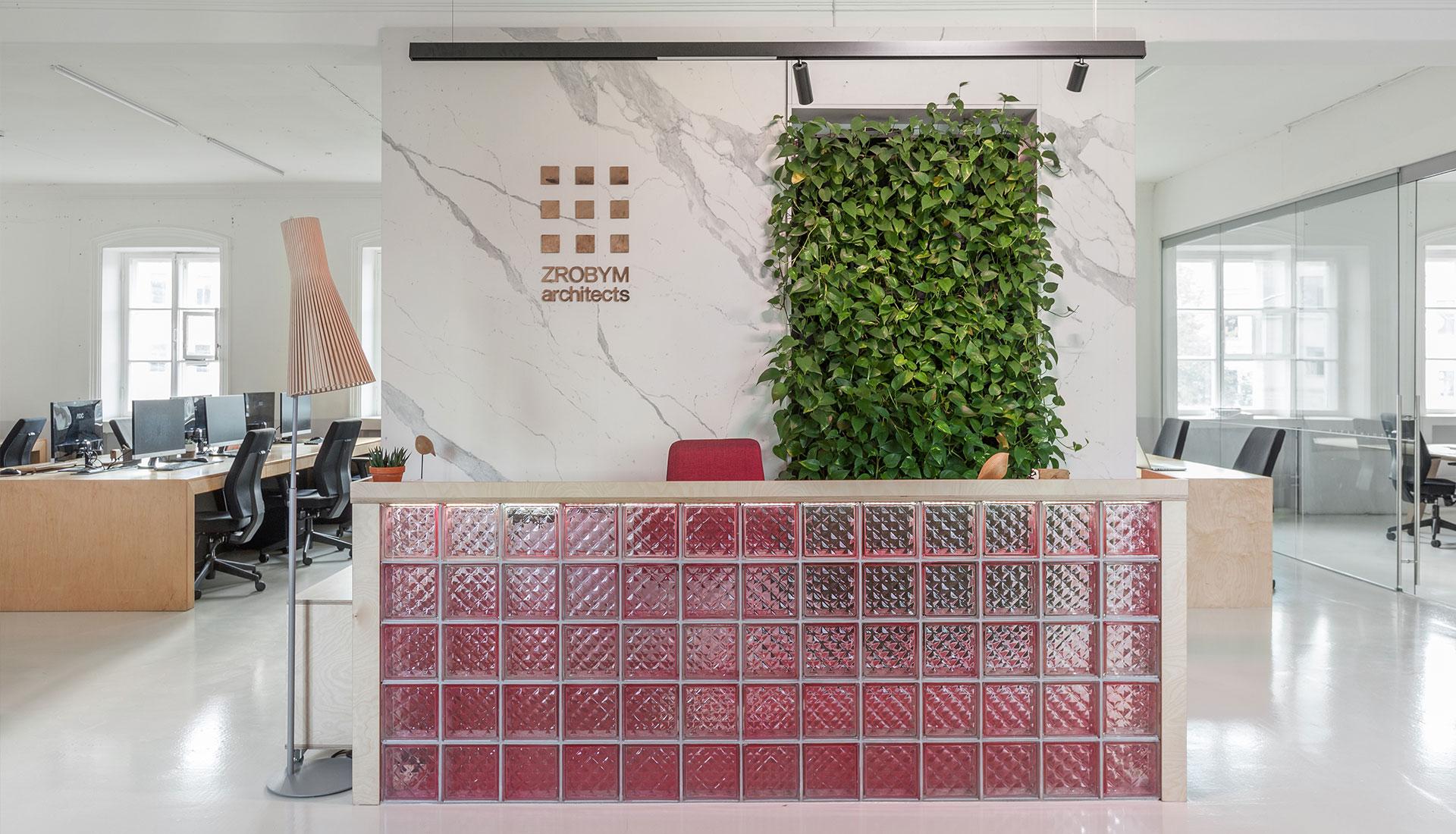 Офис бюро Zrobim Architects