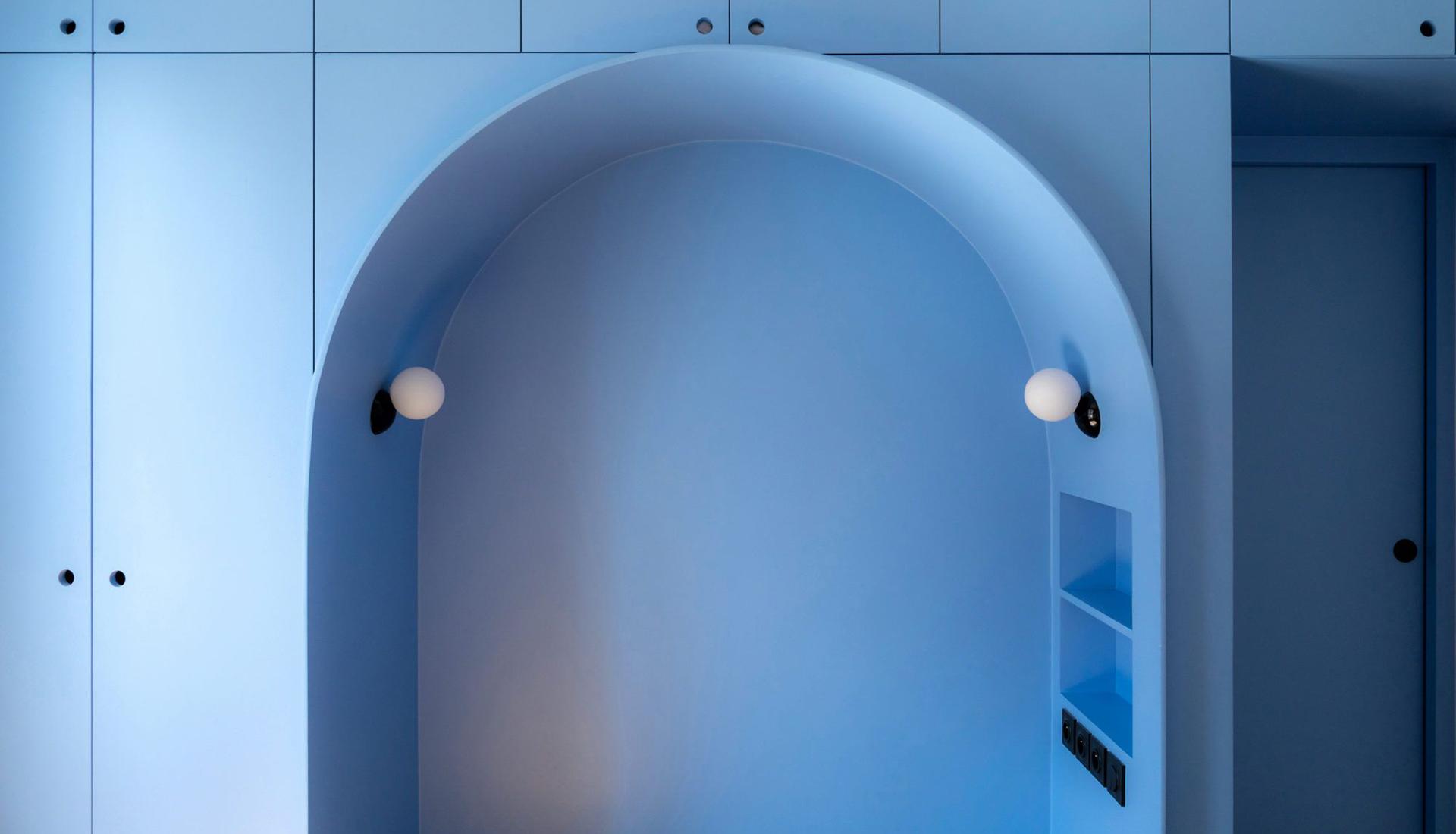 Современная парижская квартира 37 кв. метров в османовском доме
