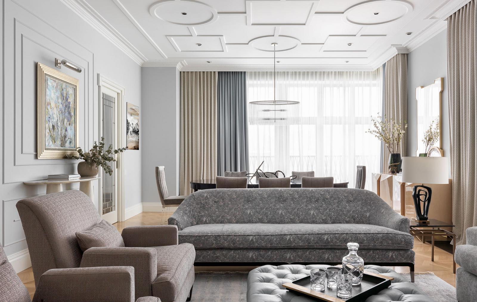 Ирина Граве: светлая квартира с американской мебелью
