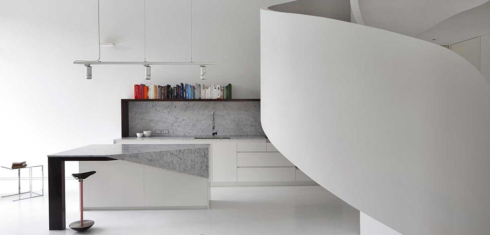 AA Architects: белый лофт в Мельбурне