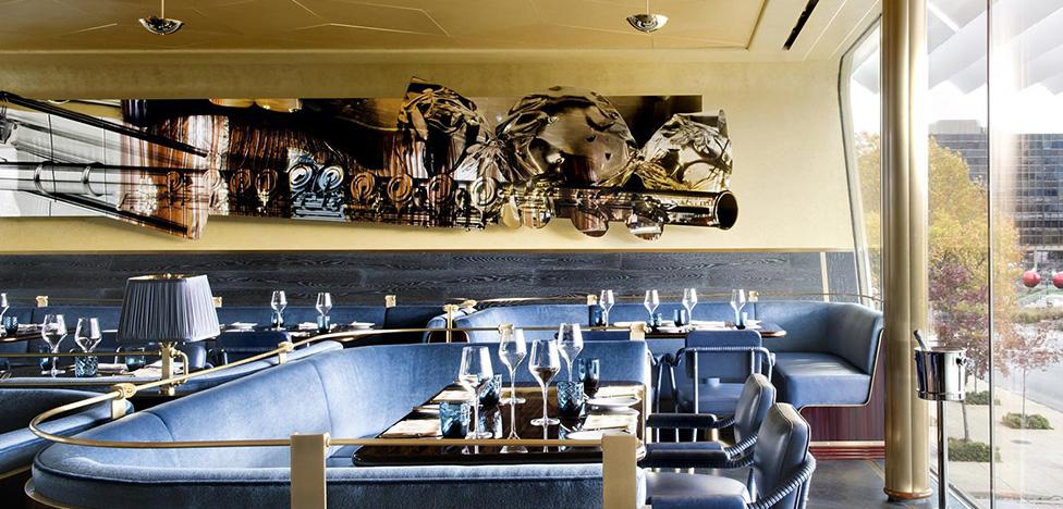 Мартин Брудницки: золотой ресторан в Далласе