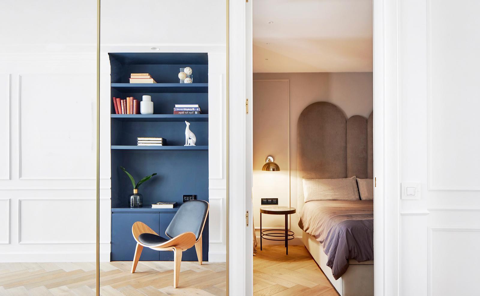 Квартира в Барселоне по проекту Мириам Баррио
