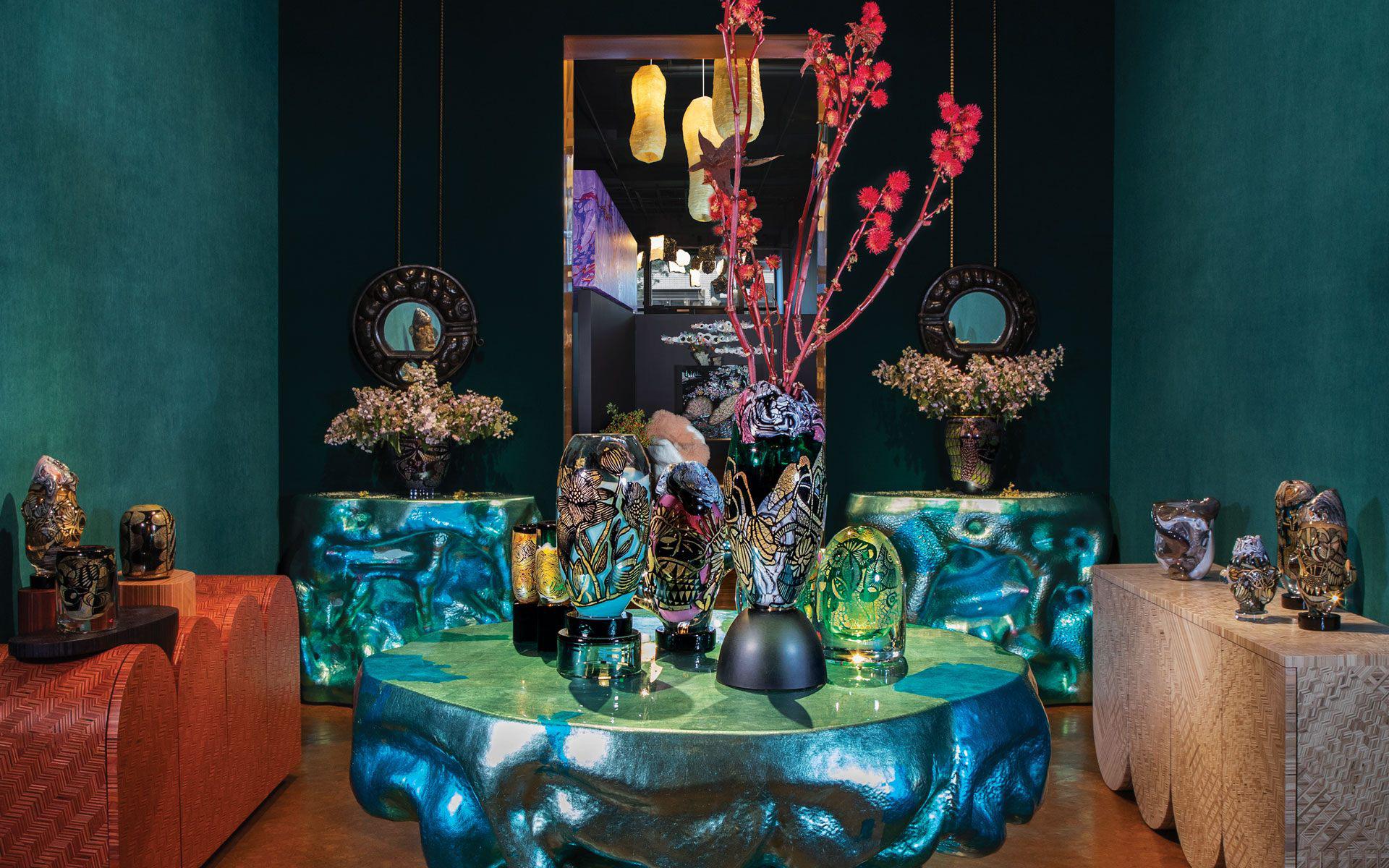 Галерея Culture Object: стекло для современного декора