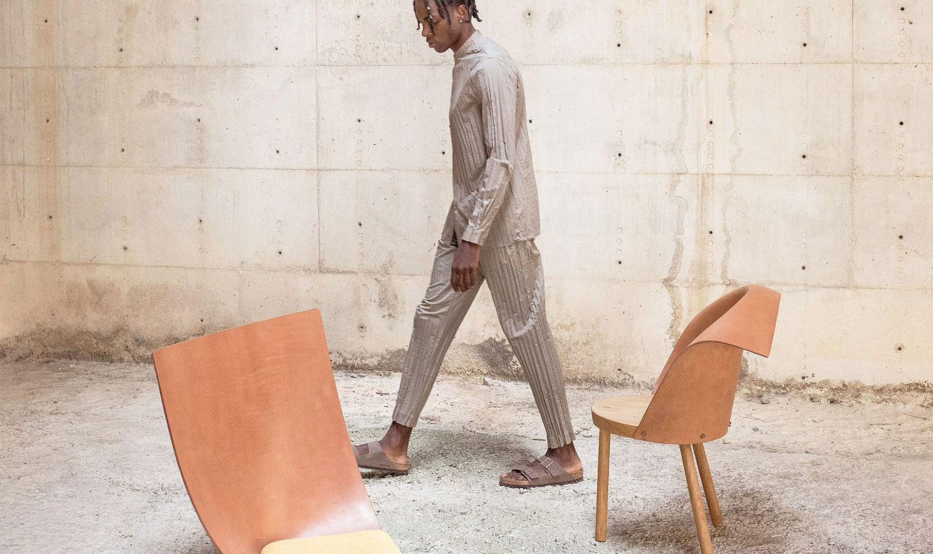 Дизайн встречает моду в проекте Gárate Hausmann