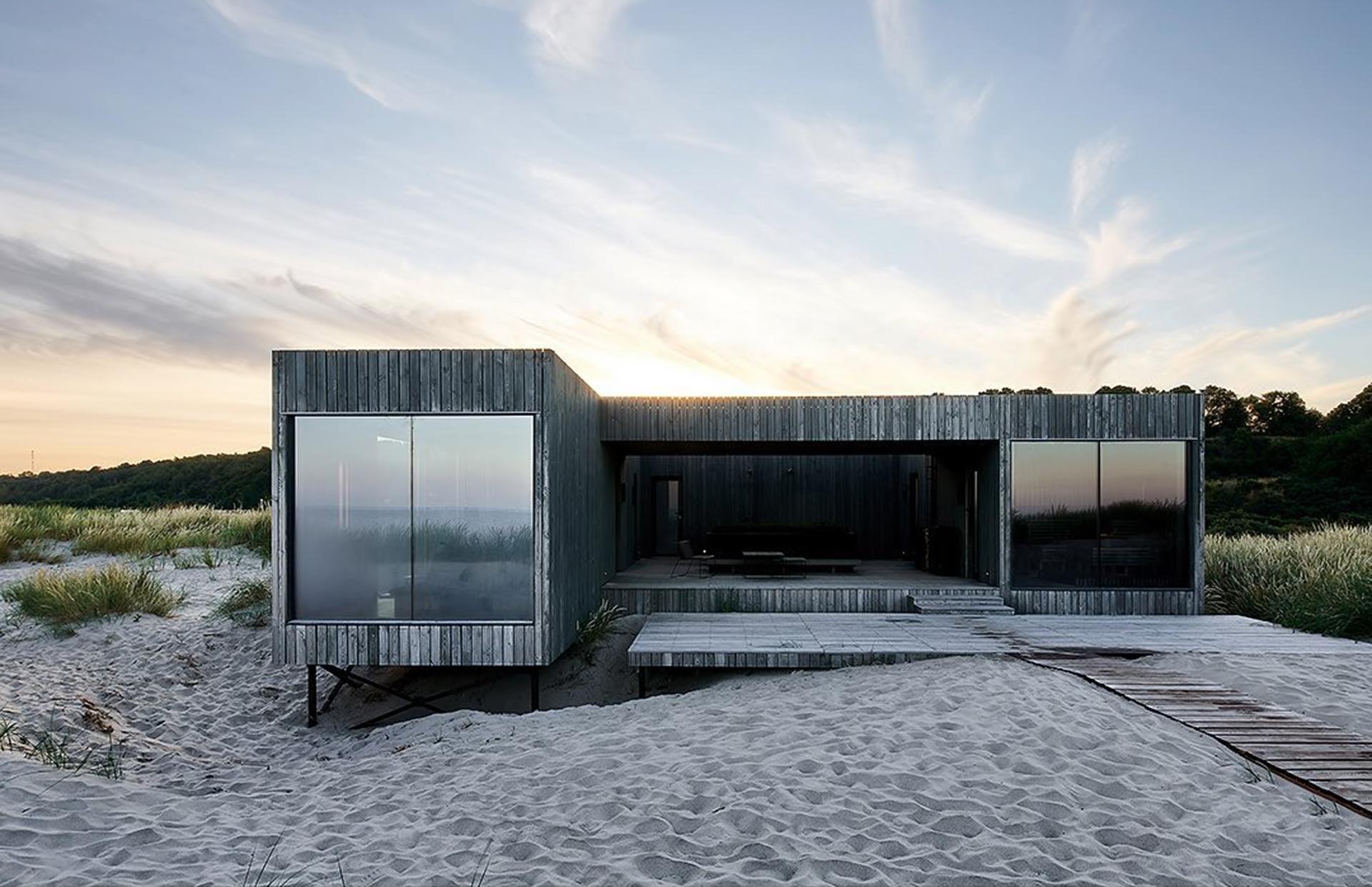 Комплекс Nordic Spa по проекту Line Design Studio