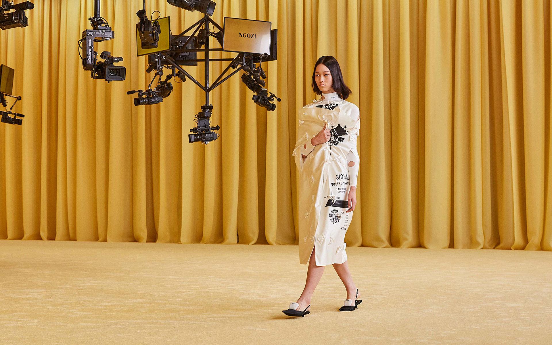 Виртуальный показ Prada в декорациях OMA/AMO