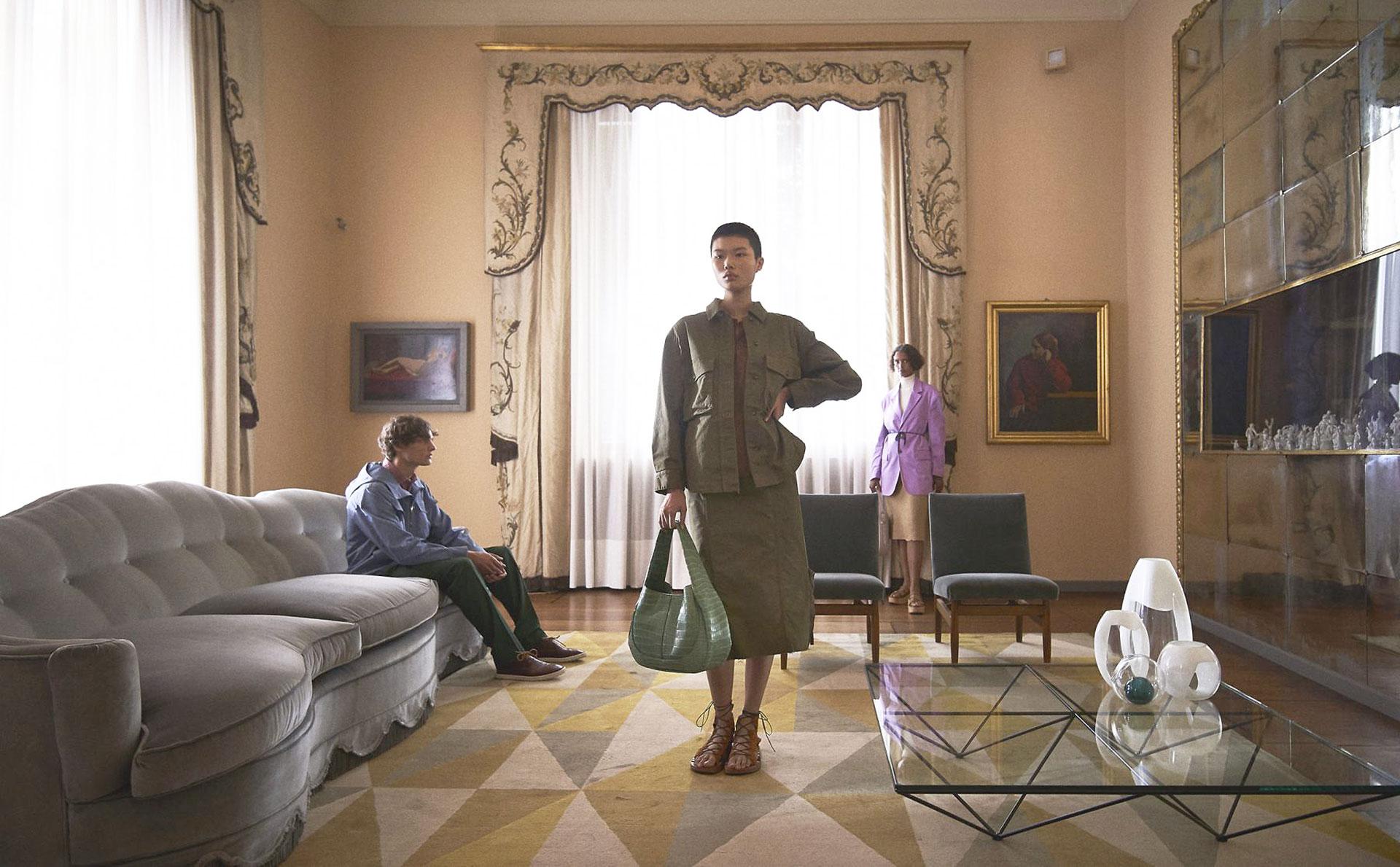 Модный показ в интерьерах виллы Некки
