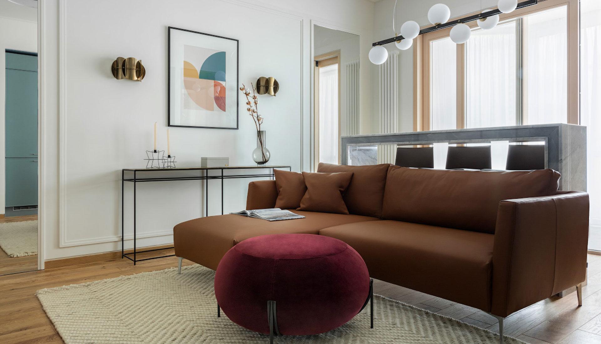 ANCconcept: квартира 45 кв. метров для сдачи в аренду