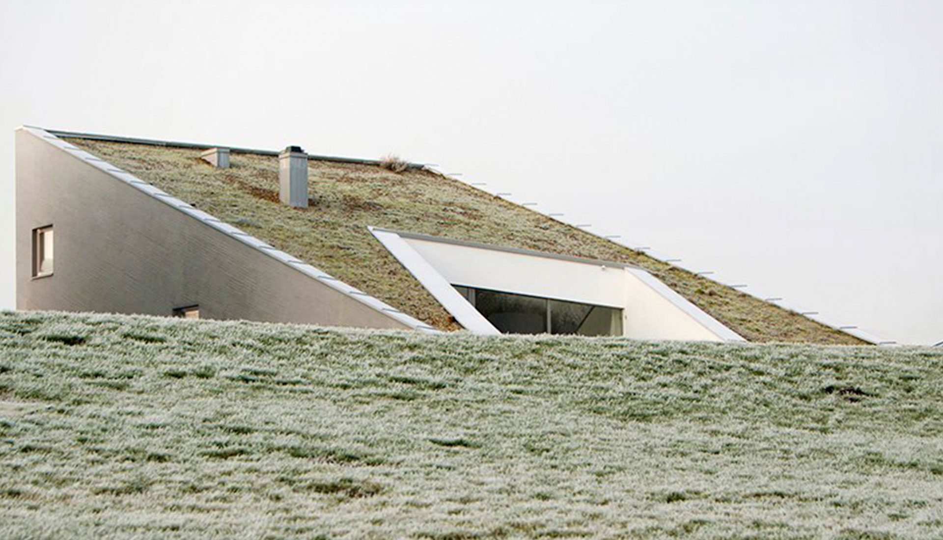 After Party: дом в Литве с зеленой крышей