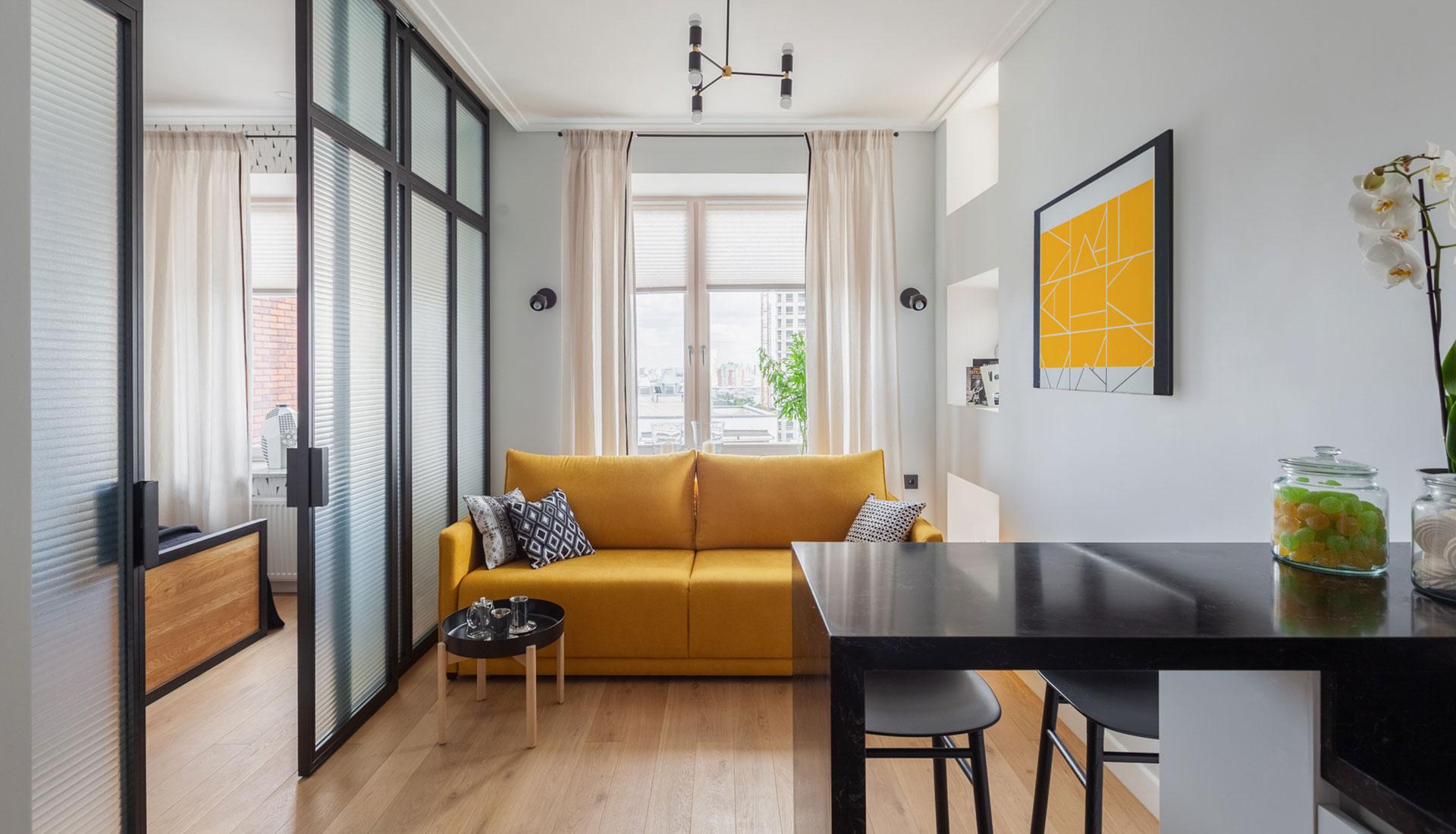 Мария Безрукова: маленькая квартира для сдачи в аренду