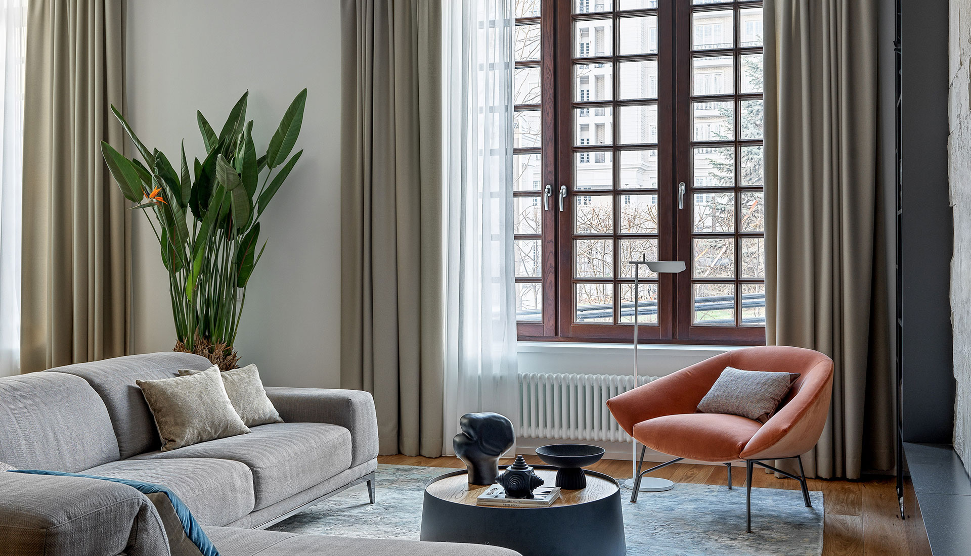 Студия Design Rocks: двухуровневая квартира в Москве