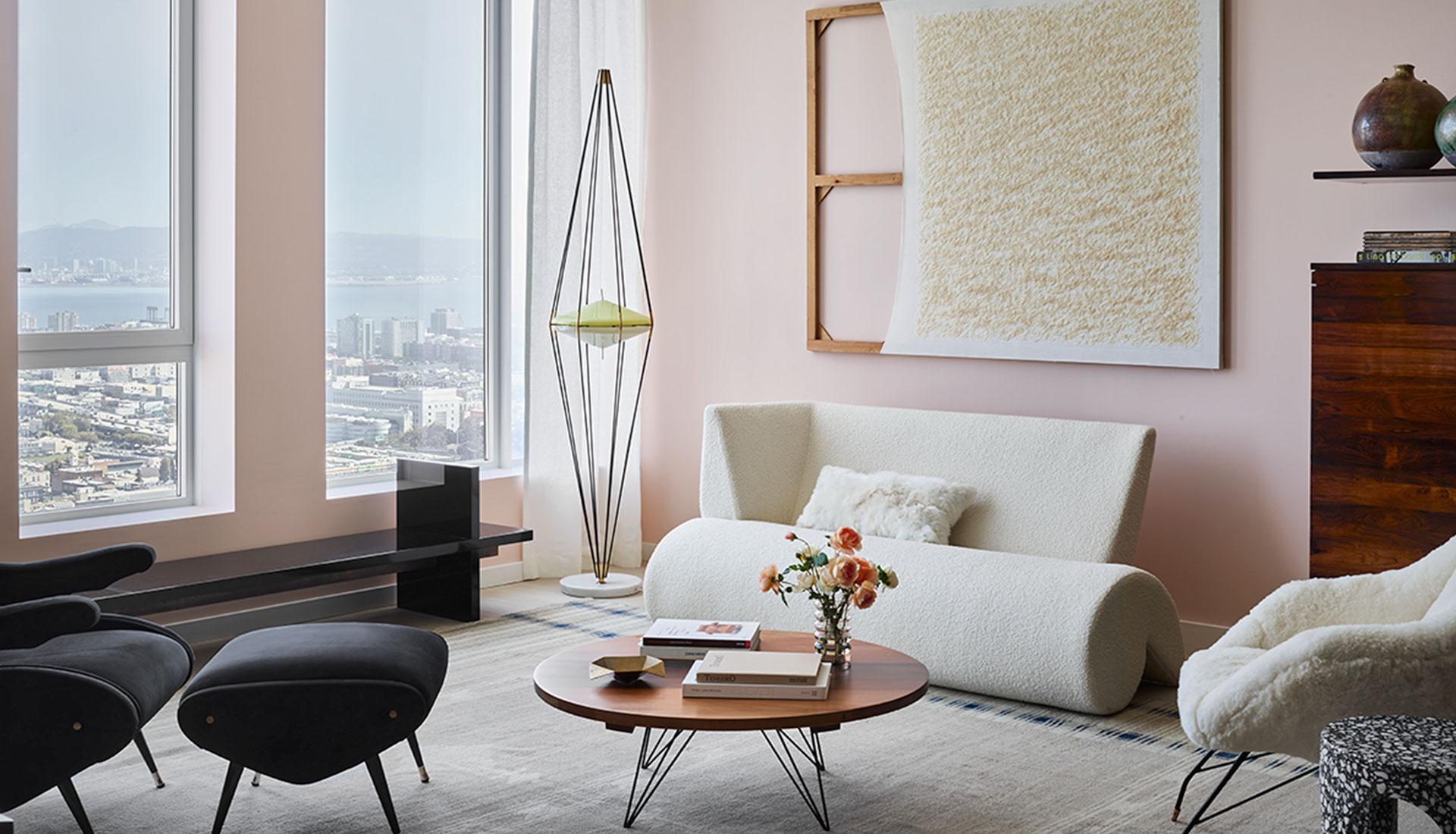 Gabriel & Guillaume: модельная квартира в Сан-Франциско