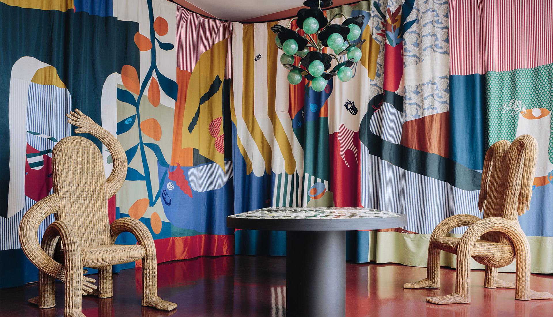 Индиа Мадави: проектная комната в Париже