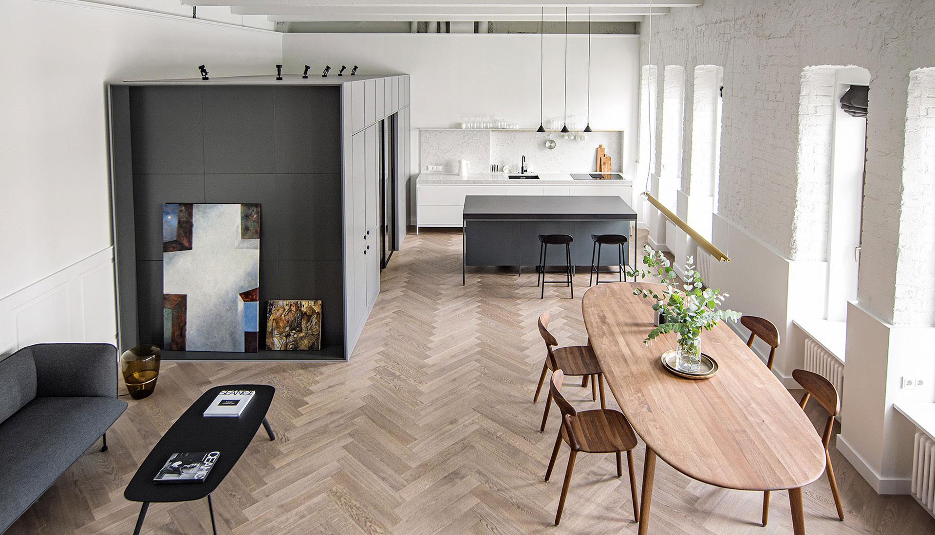 Проект INT2architecture: квартира в московском особняке