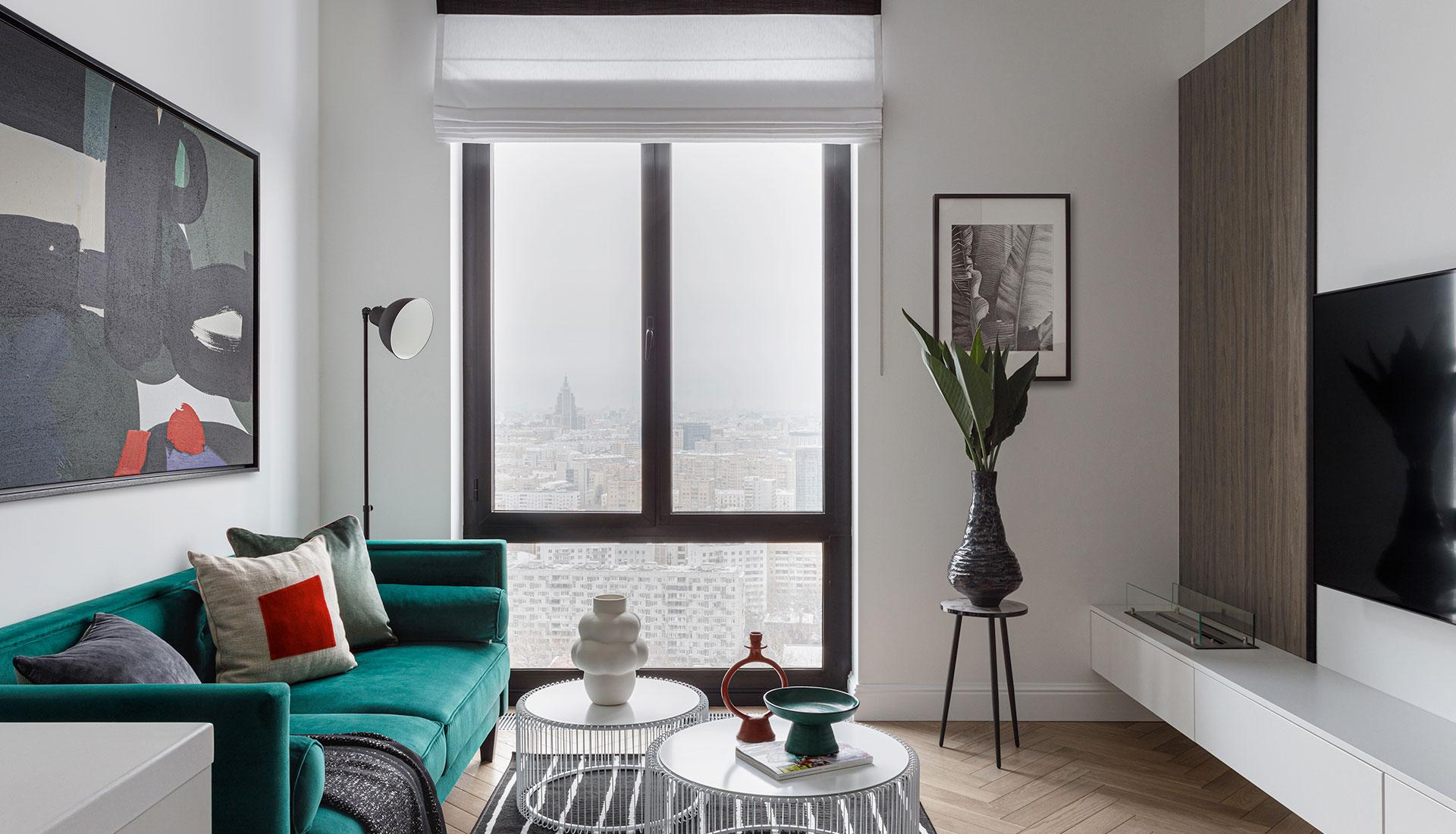 Ксения Коновалова: квартира в Москве 68 кв. метров