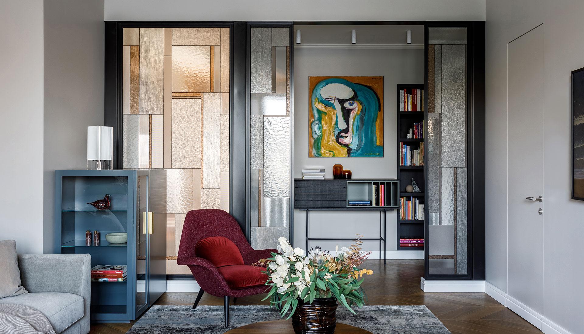 Aiya Design: семейная квартира в московской новостройке