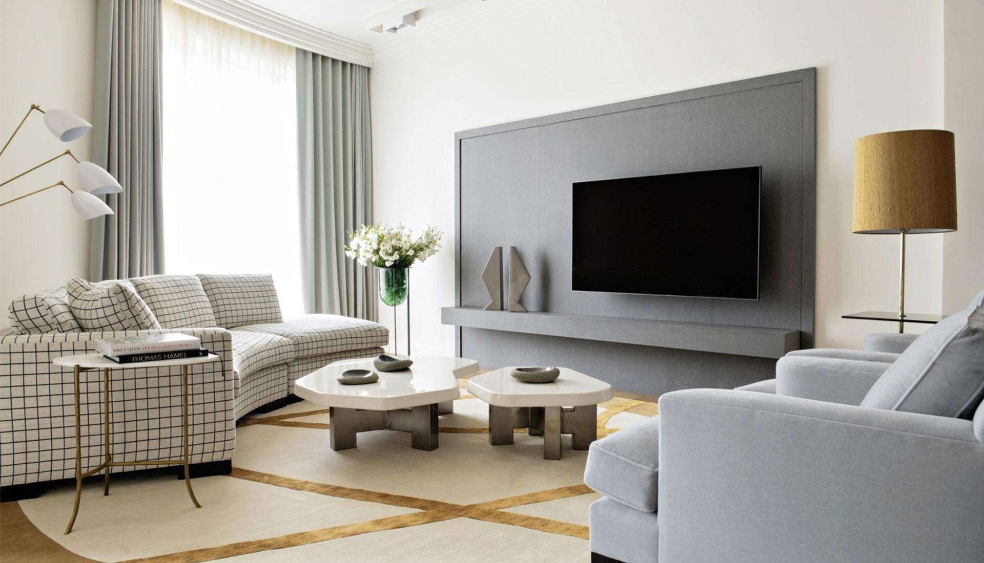 Ольга Мальева:  квартира с американским дизайном
