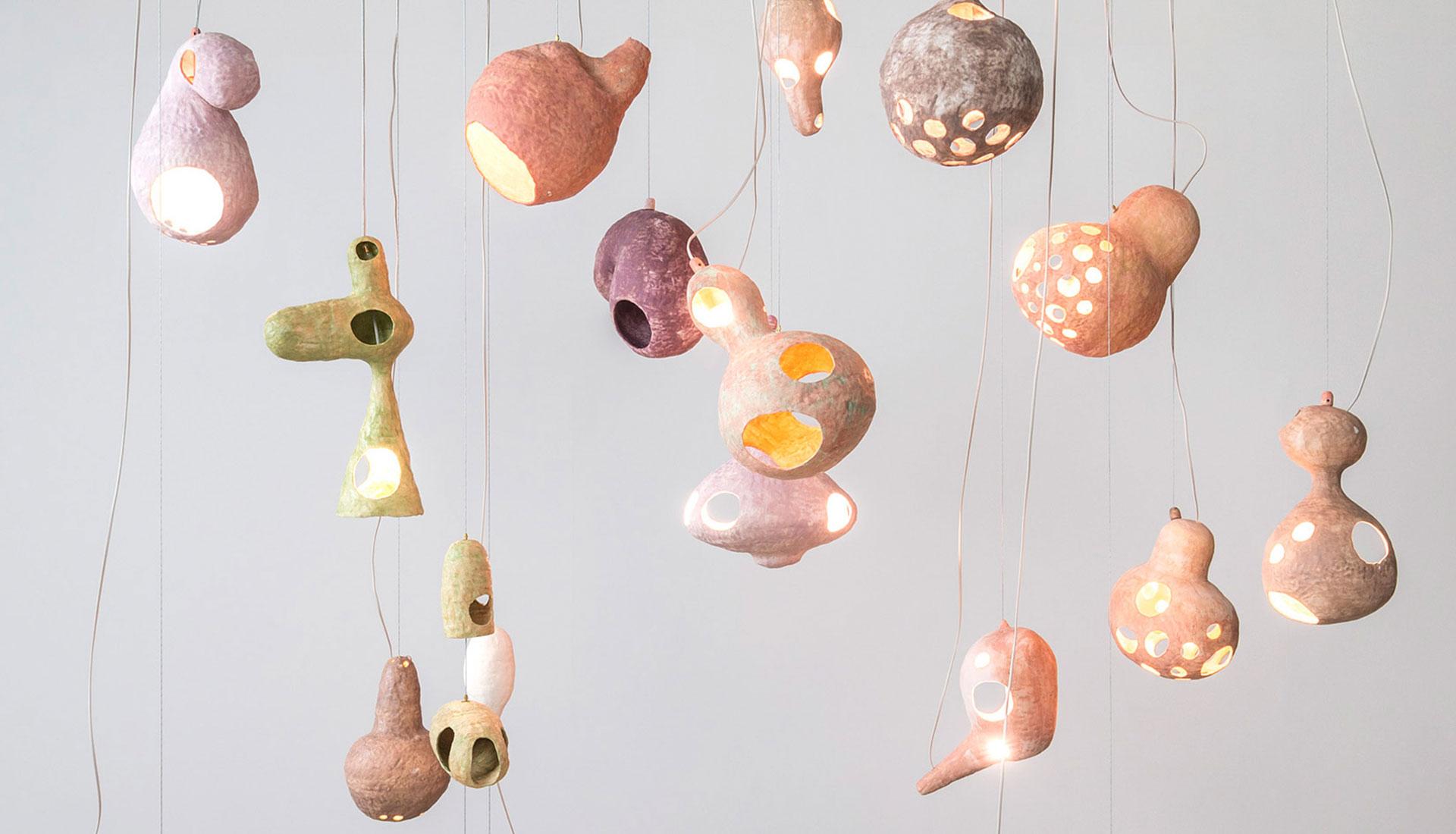 Керамика и свет Юко Нисикавы