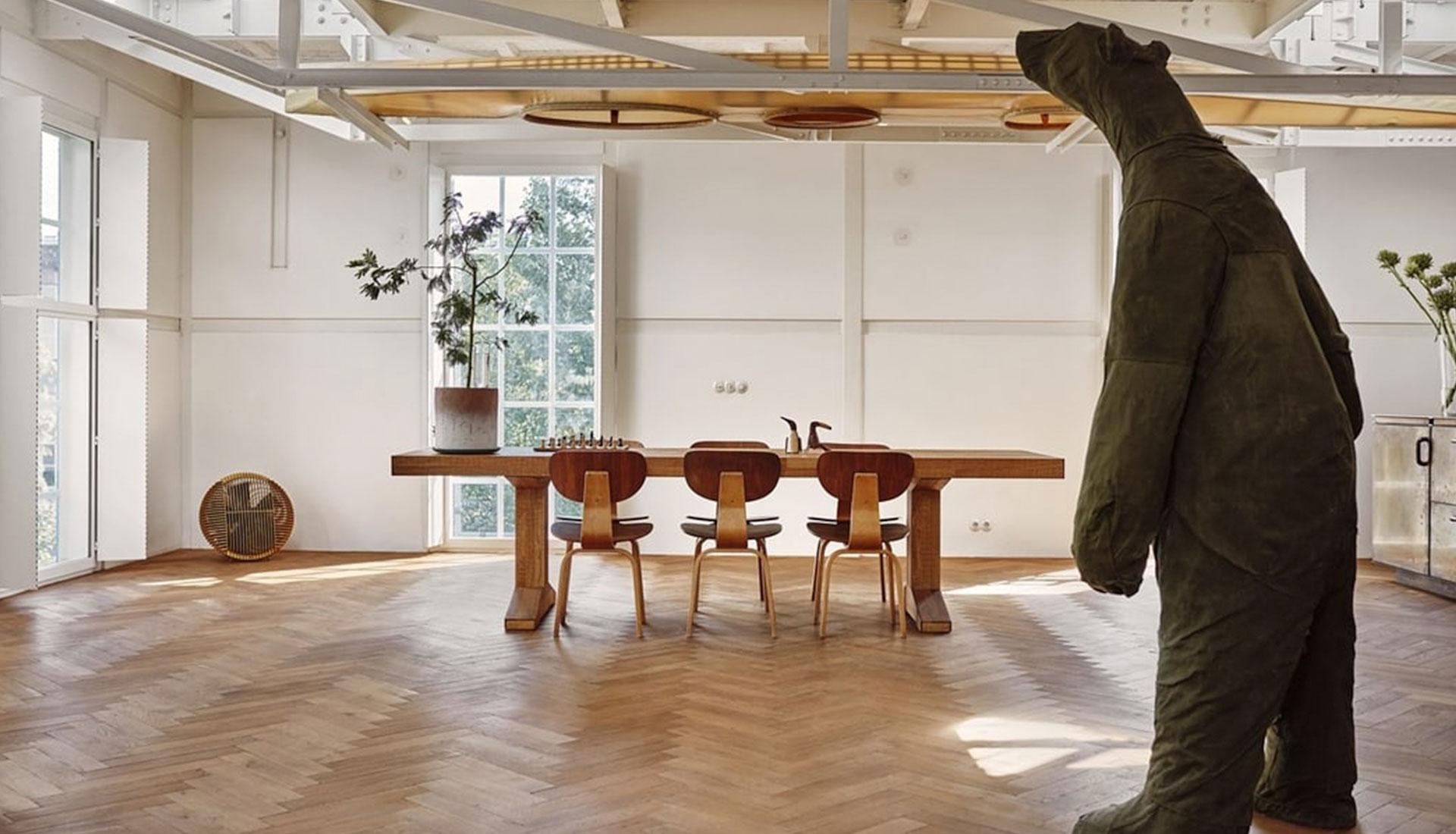 Studio Modijefsky: артистичный лофт в Зандаме