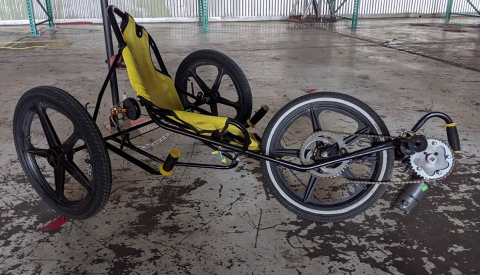 Электровелосипед Tesla
