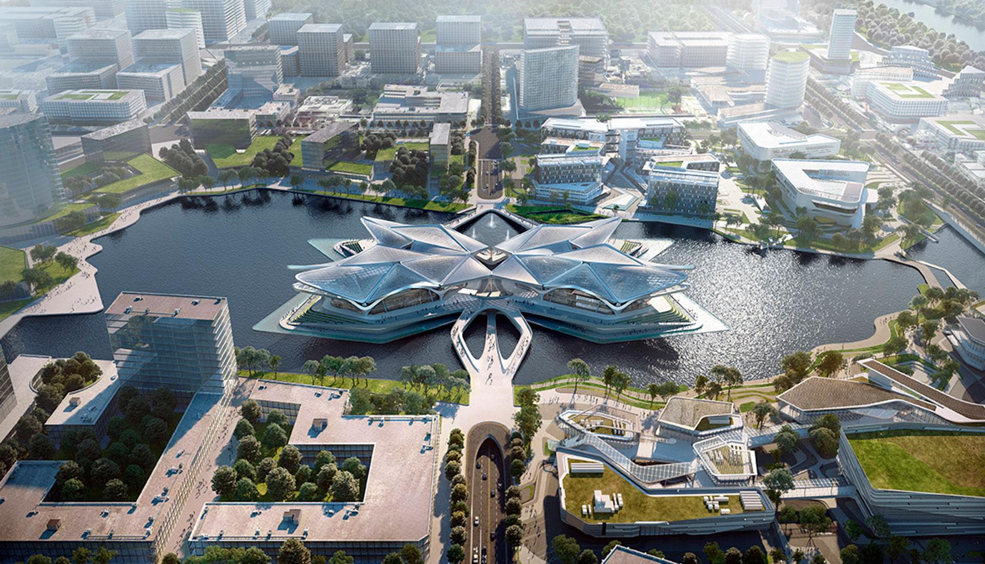 Zaha Hadid Architects строят энергоэффективный арт-центр