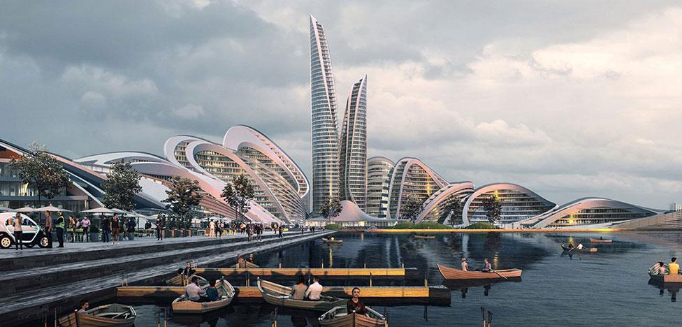 Zaha Hadid Architects проектируют «умный город» под Москвой