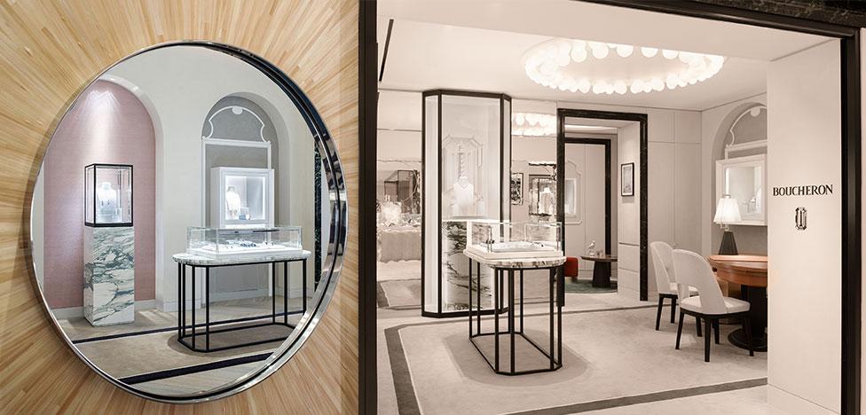Архитекторы Lecoadic-Scotto: новая концепция для Boucheron