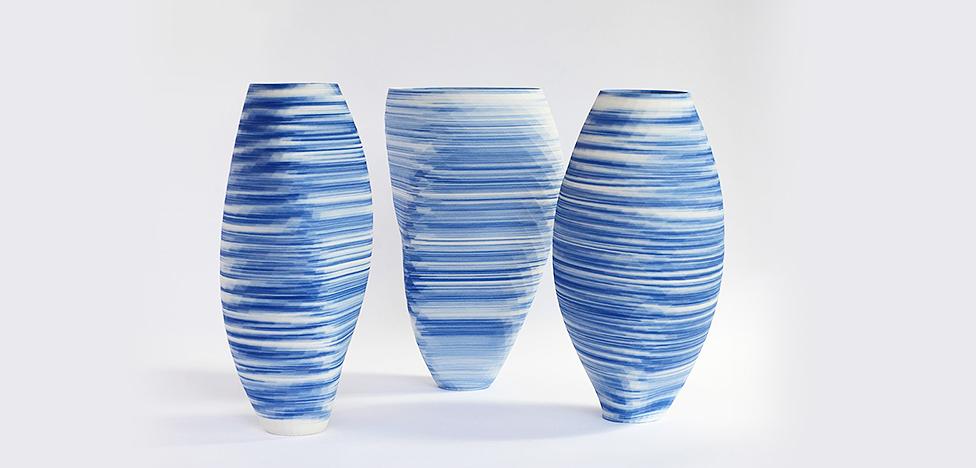 Оливье ван Херпт и напечатанные вазы